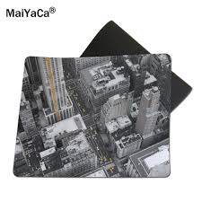 100 New York Pad MaiYaCa City Streets Mouse Rubber Non Skid