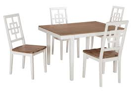 Landmark Home Furnishings - Houma, LA Brovada Two-tone ... West Starter 4 Seater Ding Set Kruzo Florence Extendable Folding Table With Chairs Fniture World Sheesham Wooden 3 1 Bench Home Room Honey Finish 20 Chair Pictures Download Free Images On Unsplash Delta Children Mickey Mouse Childs And Julian Coffe Steel 2x4 Full 9 Steps Hilltop Garden Centre Coventry Specialists Glamorous Small Tables For 2 White Customized Carousell Table Glass Wooden Ding Set 6 Online Street