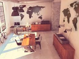 weltkarte groß edelstahl stahl rohstahl wohnzimmer wand wandbild world map leinwand dekoration arzt praxis praxen