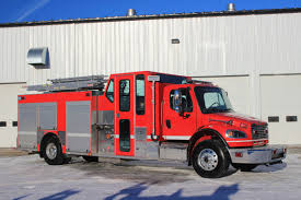 100 Fire Truck Red RED DEER COUNTY Fort Garry S Rescue