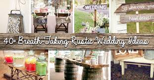 Shine Your Wedding Day With These Breath Taking Rustic Wedding