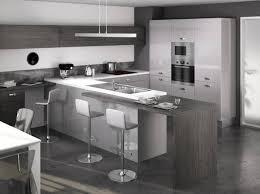 cuisine plan de travail gris cuisine blanche plan de travail gris 1 craquez pour une cuisine