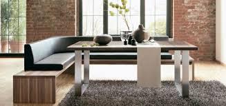 غرفة الطعام مقاعد البدلاء مع مسند الظهر تصميم داخلي بارد