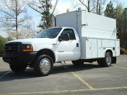 2000 Ford F 550 Super Duty Utility Service Truck For Sale