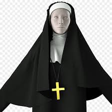 The Flying Nun Religious Habit Clothing Costume - Beautiful Fire ...