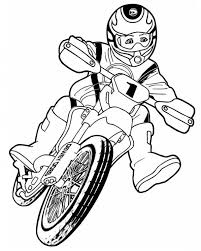 Dirt Bike Coloring Pages New Drawing At Getdrawings Of
