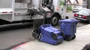 Side-Loading Garbage Truck - YouTube