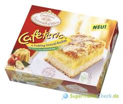 coppenrath wiese cafeteria pudding streusel kuchen 6 stück