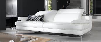 canape relax cuir blanc canapé 3 places recife relaxation en cuir de buffle un intérieur