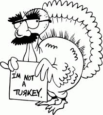 Simple Thanksgiving Coloring Pages Getcoloringpages With Regard To Cute Turkey