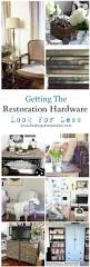 Restoration Hardware Wood Curtain Rods by Getting The Restoration Hardware Look For Less Finding Silver