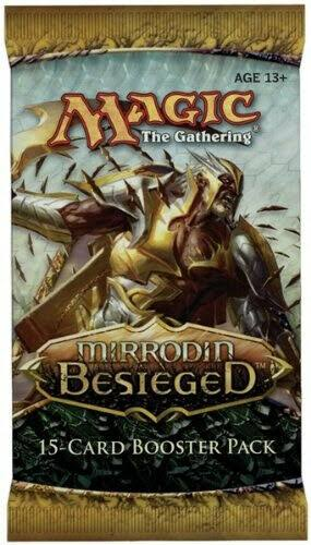 Magic The Gathering: Scars of Mirrodin Booster Pack