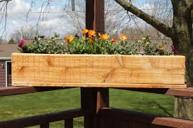 Get Quotations 36 Planter Box Standard Cedar Model With Hand Crafted Router Chamfers On Both Faces