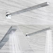 duschbrause set unterputz modern verchromt in badezimmer
