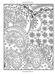 Welcome To Dover Publications 3 D Coloring Book Paisley Designs