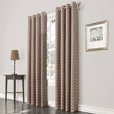 Curtains With Grommets Pattern by Shop Allen Roth Taventry 84 In Linen Polyester Grommet Room