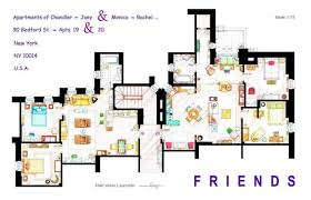 Floor Plans Photo by 13 Incredibly Detailed Floor Plans Of The Most Tv Show Homes