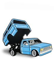 Mini Truck: Blue Pin – Benjie Escobar Art And Merchandise