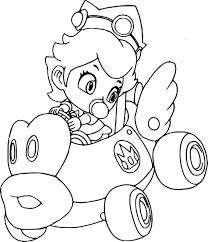 Coloriage Toad Mario Kart À Imprimer Sur Coloriages Verwandt Mit De