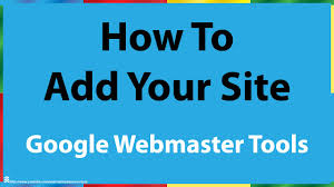 Webmaster by How To Add A Site To Google Webmaster Tools Youtube