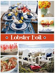 Pinterest Crawfish Boil Decorations by Lobster Boil Thepartydress Net Lobster U0026 Clam Boil Party