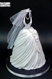 141 best Wedding Dress Cakes images on Pinterest