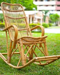 100 Woven Cane Rocking Chairs Accessories Hak Sheng Large Armchair Rattan Chair Green