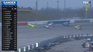 100 Jayski Trucks Highlight Kyle Busch Passes 6 Trucks For The Lead At Atlanta NASCAR