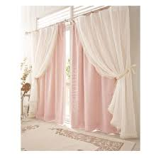 Pink Ruffled Window Curtains by Ways To Hang Sheer Curtains Sheer Valance Will Add Light To Your