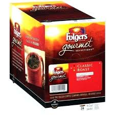 Folgers Coffee Calories K Cup Gourmet Selections Classic Roast Medium Packs Cups Amazon