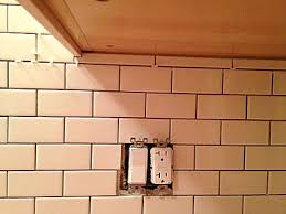 4x12 Subway Tile Spacing by How To Install Ceramic Wall Tile