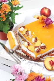 pfirsich creme schnitten