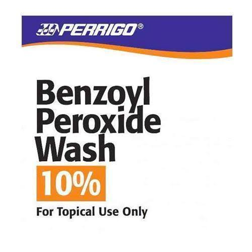Perrigo Benzoyl Peroxide Wash 10 Acne Treatment - 8oz