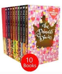 Image Is Loading The Princess Diaries 10 Books Collection Set Pack