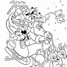 A Coloring Of Mickeys Christmas Carol