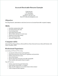 Resume Computer Skills Example Sample Showing