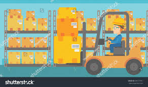 100 How To Load A Moving Truck Woman By Forklift Stock Vector Royalty Free