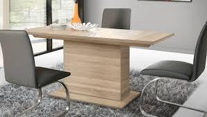 esstisch säulentisch küchentisch 160 200x90cm sonoma eiche modern neu