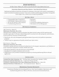 Scrum Master Resume Elegant Sample Electrician Unique Examples