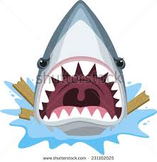 Decorative Surfboard With Shark Bite by Shark Bite Vector Stock Images Royalty Free Images U0026 Vectors