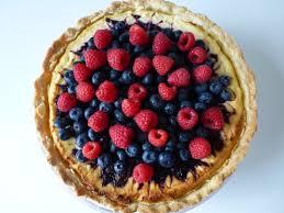 blaubeer himbeer tarte muffin