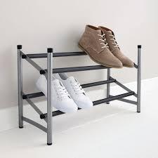 Mainstays 2 Tier Expandable Shoe Rack