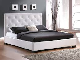 Skyline White Tufted Headboard by White Tufted Bed Frame Susan Decoration
