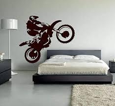 supmsds motocross vinyl wandaufkleber motorrad moto