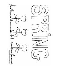 Spring Coloring Pages Printables Below 2