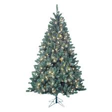 Pre Lit Slim Christmas Tree Led by Holiday Decor Christmas Trees Artificial Flowers U0026 Plants Home