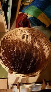 großer runder aufbewahrungskorb wäschekorb korb geflochten