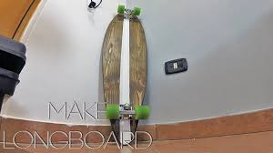 Pintail Longboard Deck Template by Make A Old Style Longboard Modern Builds Template Youtube