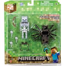 Minecraft Bedding Walmart by Minecraft Spider Jockey Action Figure Walmart Com