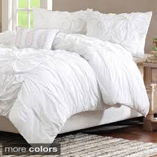 Lush Decor Belle 4 Piece Comforter Set by Vue Dakota Reversible 3 Piece Duvet Set Duvet Comforter And